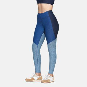 [NWT] Outdoor Voices 7/8 Tri-Toned Blue Leggings